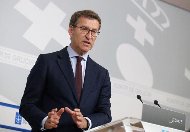 Núñez Feijóo vuelve a plantear una coalición PSOE-PP