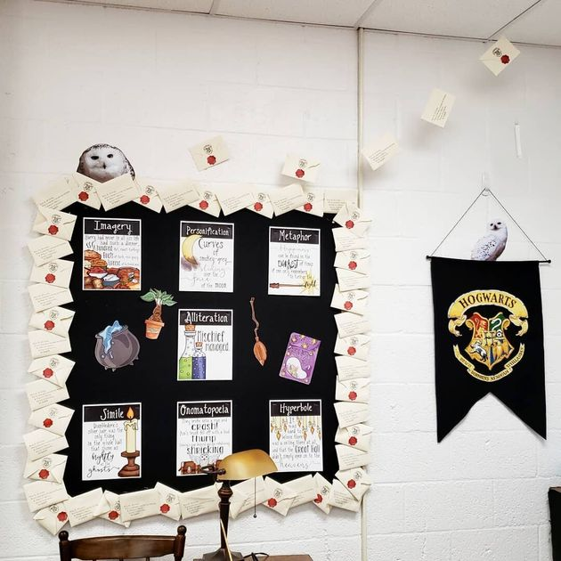 This Teacher's 'Harry Potter'-Inspired Classroom Is Pure