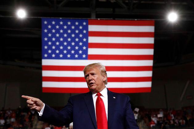 Donald Trump (Crédit: Associated