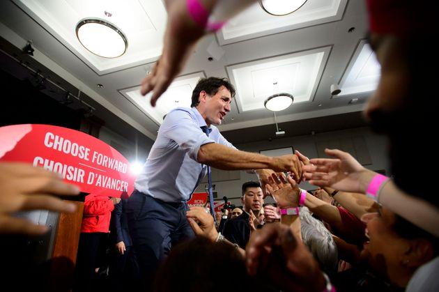 Justin Trudeau en tournée dans l'Ouest