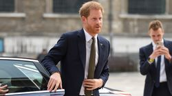 People Are Freaking Out Because Prince Harry Closed His Own Car