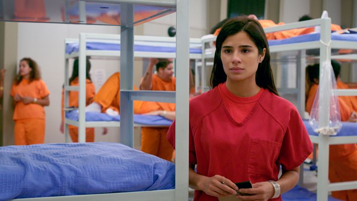 "Diane Guerrero in a scene from the final season of ""Orange is the New Black."""
