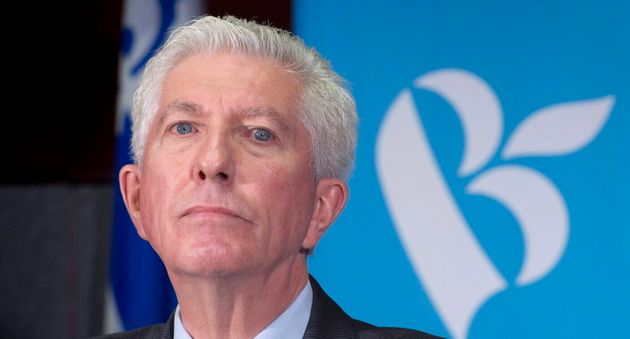 Bloc Quebecois Leader Gilles Duceppe listens to a question during a news conference in Montreal on October...