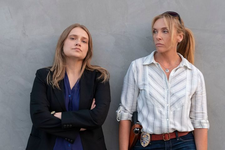 "Merritt Wever and Toni Collette in ""Unbelievable"""