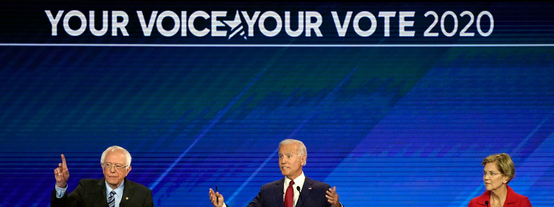 Westlake Legal Group 5d7aebf9240000122778e977 Democrats Spar Over Private Health Insurance At Presidential Debate