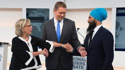 NDP, Green And Tory Leaders Duke It Out In Debate Without