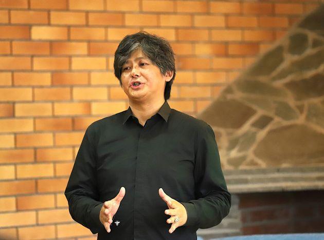 株式会社Eyes, JAPAN 代表取締役社長 山寺純氏。会津大学初のスタートアップ企業として「魔法と区別がつかない優れた技術を創造する」をビジョンに同社を創業。テクノロジーを用い、様々な分野の研究開発を行なっている