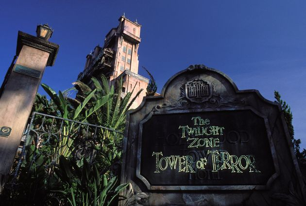 ディズニー・ハリウッド・スタジオ内にあるアトラクション「タワー・オブ・テラー」