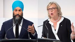 Things Sure Got Spicy Between Singh And May At 1st Leaders'