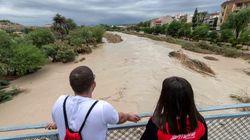 La gota fría comienza a debilitarse y sólo Alicante y Valencia siguen en alerta