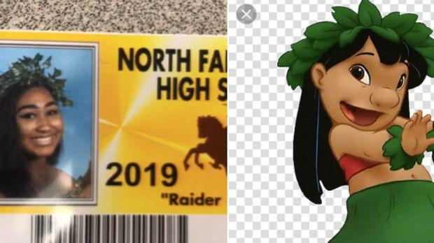 Michigan Farmington High School goofy photo IDs