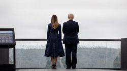 Ce détail sur le manteau de Melania Trump aux commémorations du 11-Septembre passe