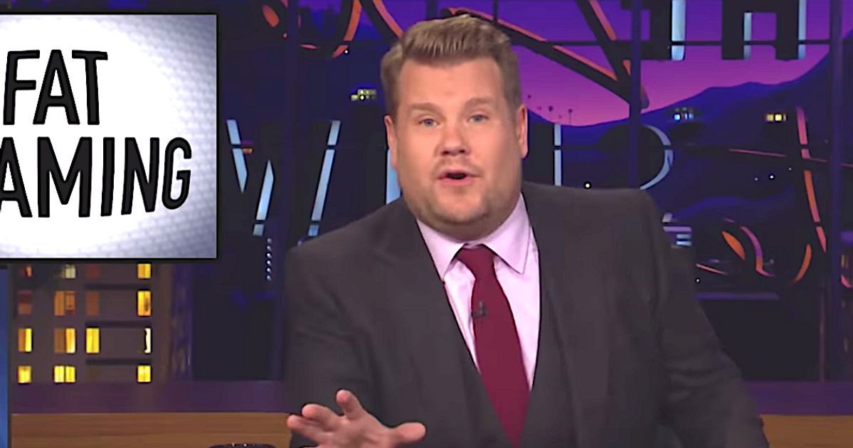 James Corden Torches Bill Maher For Fat-Shaming Segment