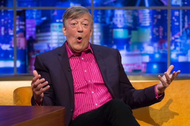 Strictly Come Dancing Won't Be Signing Up Stephen Fry Anytime Soon: 'I Can't Bear It'