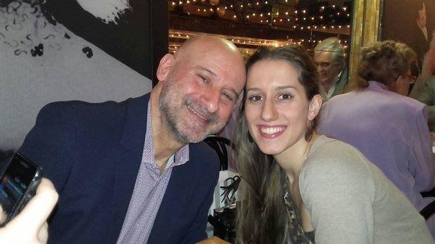 Silvia Romano con il papà