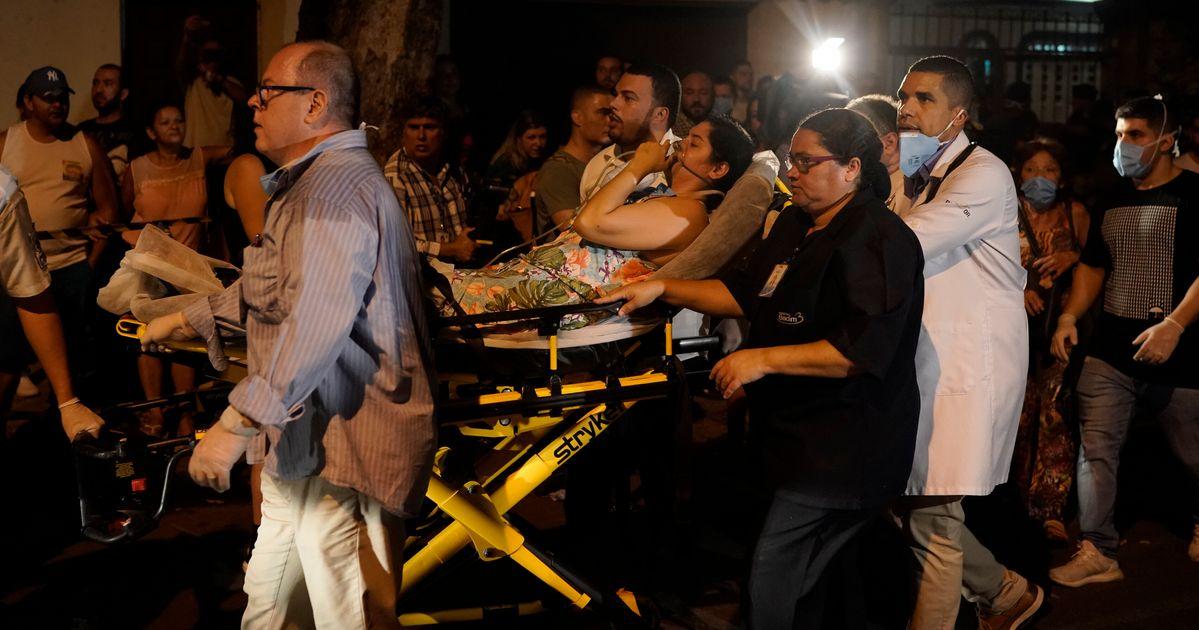 Incêndio em hospital no Rio deixa ao menos 10 mortos