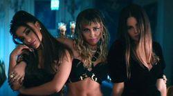 Ariana Grande, Miley Cyrus e Lana Del Rey si trasformano nelle Charlie's Angels