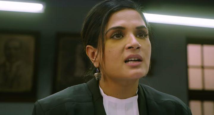 Richa Chaddha in Section 375.