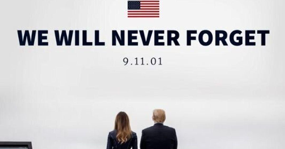 Melania Trump crée la polémique avec ce manteau porté le 11 septembre