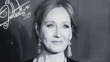 J. K. Rowling Τιμηθεί Με Μαγευτική Τοιχογραφία Στο Street Art Festival
