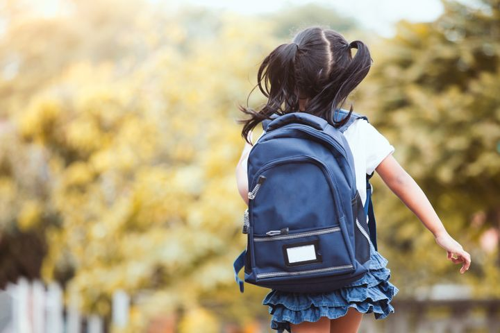 Though parents fear stranger danger, it's actually safer for kids to walk to school than to be driven there.