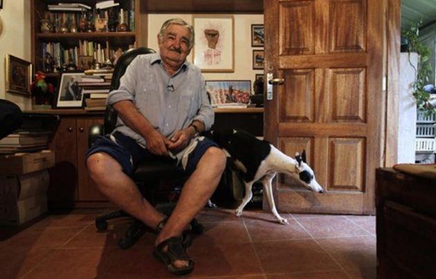 José Mujica en su
