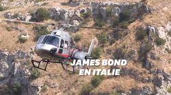 L'Aston Martin de James Bond repérée en Italie pour