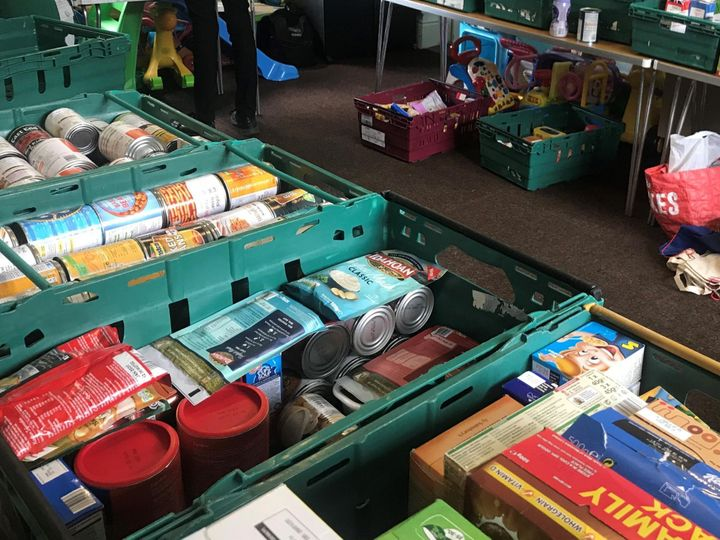 A stock image of a foodbank.