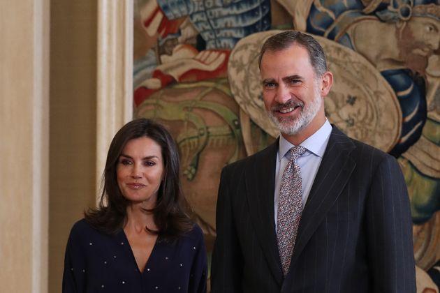La reina Letizia y el rey Felipe