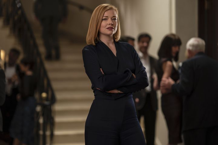 "Sarah Snook as Shiv ""Fucking"" Roy on HBOs ""Succession."""