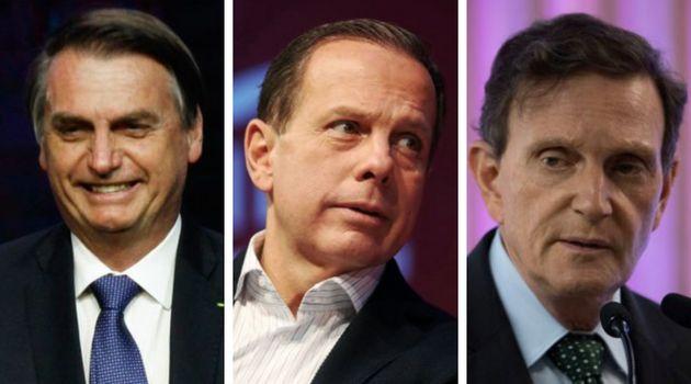Recentemente, tanto o presidente Jair Bolsonaro, o governador João Doria e o prefeito Marcelo Crivella...