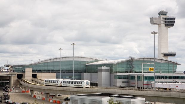 """Kennedy (JFK) international airport, New York, New York"""