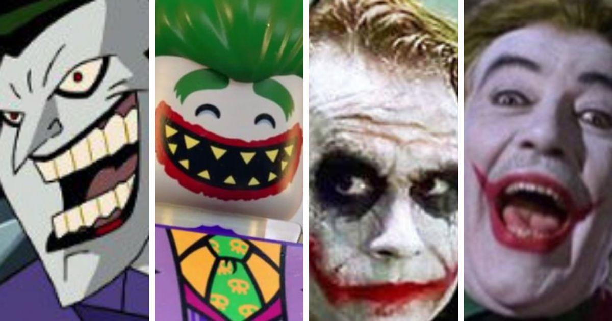 As várias faces do Coringa: Qual a melhor versão do arqui-inimigo do Batman?