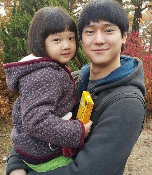 '응답하라 1988' 출연 당시 김설(왼쪽)과