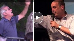 Militante protesta per il dibattito breve, Zingaretti replica: