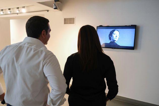 Τσίπρας στη ΔΕΘ: Οι εκθέσεις που επισκέφθηκε με την σύζυγό