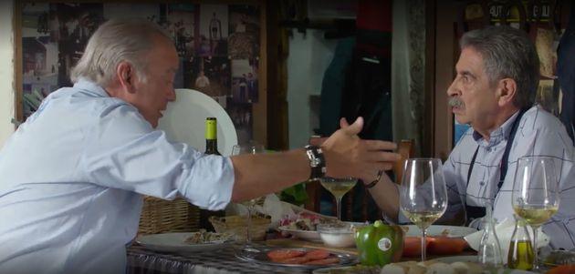 Enfado entre Bertín Osborne y Miguel Ángel Revilla por el rey Juan Carlos