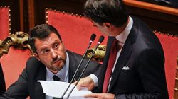 Salvini contro Conte:
