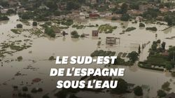 Les images des inondations en Espagne, qui ont fait plusieurs