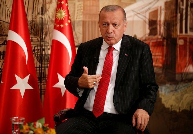 Ερντογάν για ανατολική Μεσόγειο: Ανά πάσα στιγμή μπορεί να γίνει