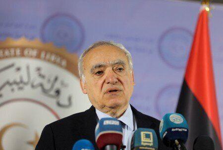 FILE PHOTO: The U.N. Envoy for Libya, Ghassan