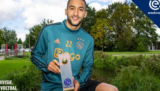 Championnat des Pays-Bas: Hakim Ziyech meilleur joueur du mois