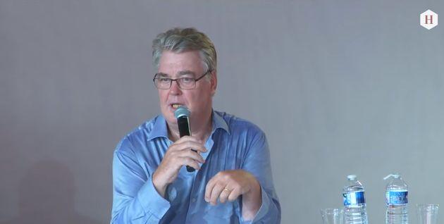 Jean-Paul Delevoye lors d'un débat à la Fête de