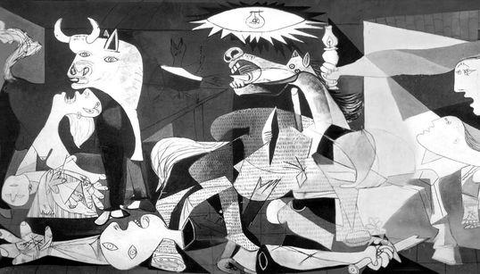 """La web de la ONU dice que Picasso pintó el Guernica """"en protesta por las atrocidades de la"""