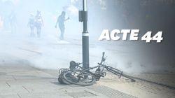 De nombreux heurts ont éclaté à Nantes lors de l'acte 44 des gilets