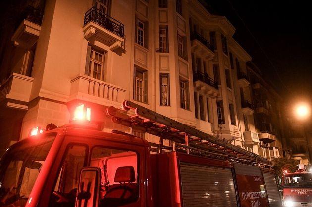 Κολωνάκι: Νεκρή ηλικιωμένη από φωτιά σε νεοκλασικό