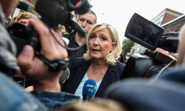 Marine Le Pen, ici le 8 septembre à Hénin-Beaumont, a confié à des journalistes qu'elle ne souhaitait...