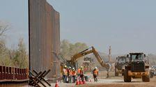 トランプの管理の切削20マイルの国境の壁が欠けてい資金報告書