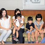 琵琶湖でおぼれた4歳男児、命の恩人と再会 その後も元気に回復