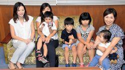琵琶湖でおぼれた4歳男児、命の恩人と再開 その後も元気に回復
